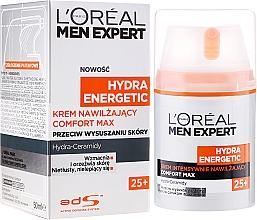 Fragrances, Perfumes, Cosmetics Moisturizing Face Cream - L'Oreal Paris Men Expert Hydra Energetic Comfort Max 25+