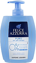 Fragrances, Perfumes, Cosmetics Liquid Soap - Felce Azzurra Puro Per Pelli Sensibili