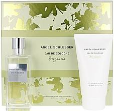 Fragrances, Perfumes, Cosmetics Angel Schlesser Eau De Cologne Bergamota - Set (edc/100ml+sh/gel/150)