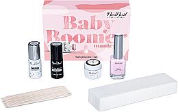 Fragrances, Perfumes, Cosmetics Set - NeoNail Professional Baby Boomer Set (top/7,2ml + base/7,2ml + gel/5ml + gum/12ml + sponge/25pc + sticks/10pc)