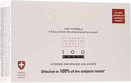 Fragrances, Perfumes, Cosmetics Women Re-Growth Ampoules - Crescina HFSC Re-Growth Anti-hair Loss 500