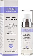 Fragrances, Perfumes, Cosmetics Firming and Smoothing Face Serum - Ren Keep Young and Beautiful Smoothing Serum