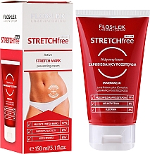 Fragrances, Perfumes, Cosmetics Active Cream for Stretch Marks Preventing - Floslek Slim Line Active Cream To Prevent Stretch Marks Stretch Free