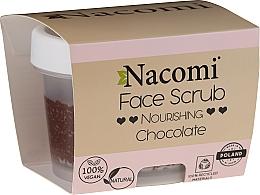 Fragrances, Perfumes, Cosmetics Face & Lip Moisturizing Scrub - Nacomi Moisturizing Face&Lip Scrub Chocolate