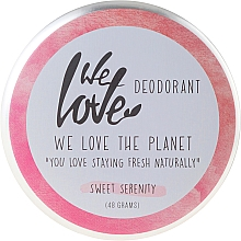 "Fragrances, Perfumes, Cosmetics Natural Creamy Deodorant ""Sweet Serenity"" - We Love The Planet Deodorant Sweet Serenity"