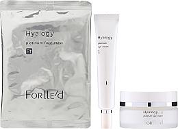 Fragrances, Perfumes, Cosmetics Set - ForLLe'd Platinum (cr/50g + eye/cr/9g + mask/2pcs)