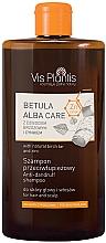 Fragrances, Perfumes, Cosmetics Birch Tar & Zinc Shampoo - Vis Plantis Betula Alba Care Anti-Dandruff Shampoo
