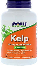 Fragrances, Perfumes, Cosmetics Kelp with Iodine, 150 mcg. - Now Foods Kelp