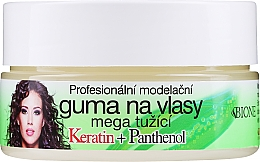 Fragrances, Perfumes, Cosmetics Hair Wax - Bione Cosmetics Keratin + Panthenol Professional Ultra Strong Sculpting Rubber