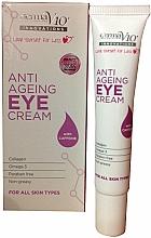 Fragrances, Perfumes, Cosmetics Anti-Aging Eye Cream - Derma V10 Innovations Anti Ageing Eye Cream