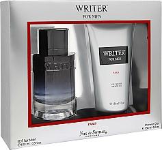Fragrances, Perfumes, Cosmetics Yves de Sistelle Writer for Men - Set (edt/100ml + sh/gel/150ml)