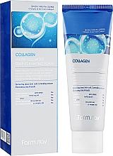 Fragrances, Perfumes, Cosmetics Anti-Aging Moisturizing Collagen Foam - FarmStay Collagen Water Full Moist Deep Cleansing Foam