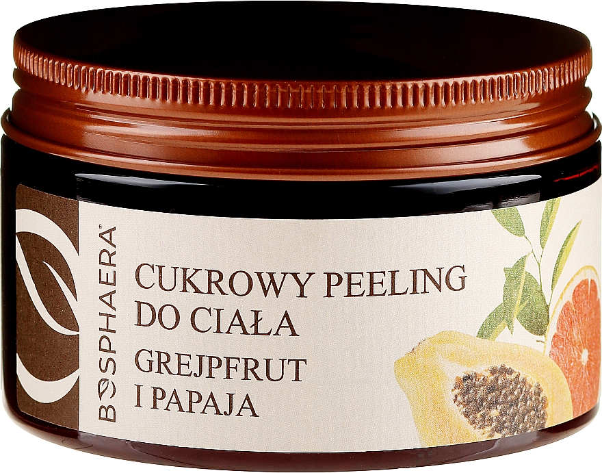 "Body Sugar Peeling ""Grapefruit and Papaya"" - Bosphaera"