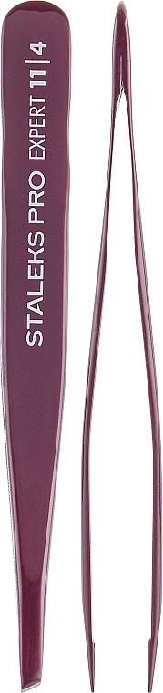 Eyebrow Tweezers, TE-11/4 - Staleks Pro