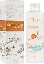 Fragrances, Perfumes, Cosmetics Snail Nourishing Toner - Esfolio Nutri Snail Daily Toner