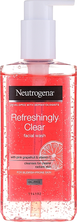 Facial Cleanser - Neutrogena Visibly Clear Pink Grapefruit Facial Wash