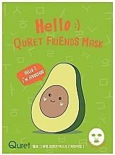 Fragrances, Perfumes, Cosmetics Avocado Face Mask - Quret Hello Avocado Friends Mask