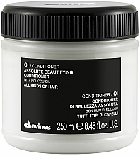 Fragrances, Perfumes, Cosmetics Creamy Conditioner - Davines Absolute Beautifying Conditioner