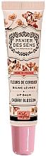 Fragrances, Perfumes, Cosmetics Cherry Blossom Shea Lip Balm - Panier des Sens Lip Balm Shea Butter Cherry Blossom