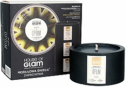 Fragrances, Perfumes, Cosmetics Scented Candle - House of Glam Black Opium Candle