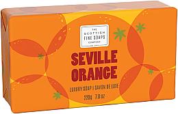 Fragrances, Perfumes, Cosmetics Soap - Scottish Fine Soaps Seville Orange Luxury Wrapped Soap