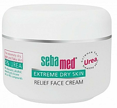 Fragrances, Perfumes, Cosmetics Face Cream for Very Dry Skin - Sebamed Extreme Dry Skin Relief Face Cream 5% Urea