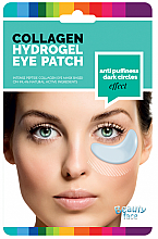 Fragrances, Perfumes, Cosmetics Anti Puffiness & Dark Circles Smoothing Collagen Eye Mask - Beauty Face Collagen Hydrogel Eye Mask