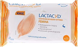 Fragrances, Perfumes, Cosmetics Intimate Hygiene Wipes - Lactacyd Femina Intimate Hygiene Wipes