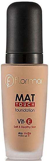 Mattifying Foundation - Flormar Mat Touch Foundation