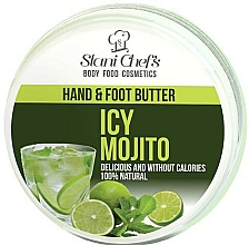 Fragrances, Perfumes, Cosmetics Hand and Foot Oil - Hristina Stani Chef's Hand And Foot Butter Icy Mojito