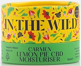 Fragrances, Perfumes, Cosmetics Moisturizing Lemon Zest & CBD Face Cream - In The Wild Carmen Lemon Pie CBD Moisturiser