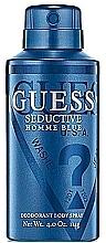 Fragrances, Perfumes, Cosmetics Guess Seductive Homme Blue - Deodorant