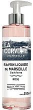 """Fragrances, Perfumes, Cosmetics Liquid Soap """"Rose"""" - La Corvette Rose Liquid Soap"""