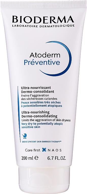 Dermo-Consolidating Nourishing Cream - Bioderma Atoderm Preventive Nourishing Cream Dermo-Consolidating