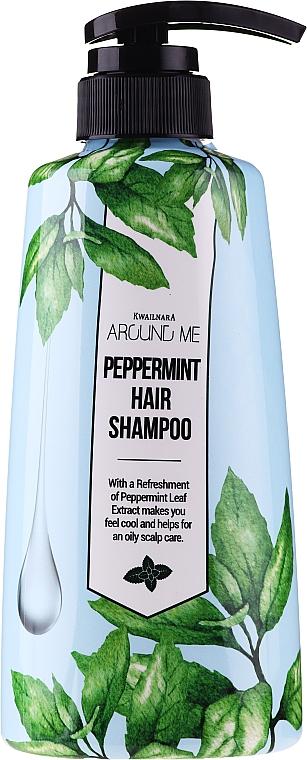 Shampoo for Greasy Hair - Welcos Around Me Peppermint Fresh Hair Shampoo