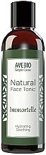Fragrances, Perfumes, Cosmetics Natural Face Tonic - Avebio Natural Face Tonic Immortelle
