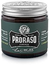 Fragrances, Perfumes, Cosmetics Pre-Shaving Cream - Proraso Cypress & Vetyver Pre-Shaving Cream