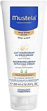 Fragrances, Perfumes, Cosmetics Body Cold-Cream - Mustela Bebe Nourishing Lotion with Cold Cream