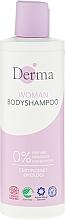 Fragrances, Perfumes, Cosmetics Shower Gel - Derma Eco Woman Body Shampoo