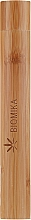Fragrances, Perfumes, Cosmetics Bamboo Case for Toothbrush - Biomika