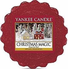 Fragrances, Perfumes, Cosmetics Scented Wax - Yankee Candle Christmas Magic Tarts Wax Melts