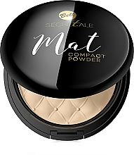 Fragrances, Perfumes, Cosmetics Compact Matte Powder - Bell Secretale Mat Compact Powder