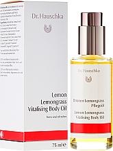 """Fragrances, Perfumes, Cosmetics Body Oil """"Lemon & Lemongrass"""" - Dr. Hauschka Lemon Lemongrass Vitalizing Body Oil"""