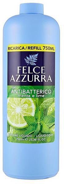 Liquid Soap - Felce Azzurra Antibacterial Mint & Lime (refill)