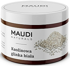 Fragrances, Perfumes, Cosmetics Kaolin White Face Clay - Maudi
