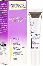Fragrances, Perfumes, Cosmetics Eye Cream - Perfecta Ceramid Lift 70+/80+ Eye Cream