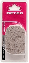 Fragrances, Perfumes, Cosmetics Natural Oval Pumice - Beter Beauty Care