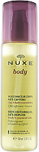 "Fragrances, Perfumes, Cosmetics Body Butter ""Anti-Cellulite"" - Nuxe Body Body-Contouring Oil Anti-Dimpling"