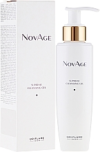 Fragrances, Perfumes, Cosmetics Cleansing Tonic Gel for Washing - Oriflame NovAge Supreme Cleansing Gel