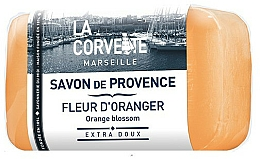 "Fragrances, Perfumes, Cosmetics Provence Soap ""Orange Blossom"" - La Corvette Provence Soap Orange Blossom"